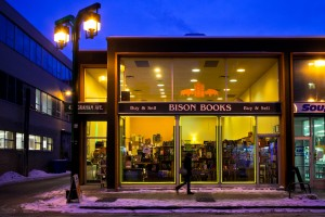 Bison Books at NIght